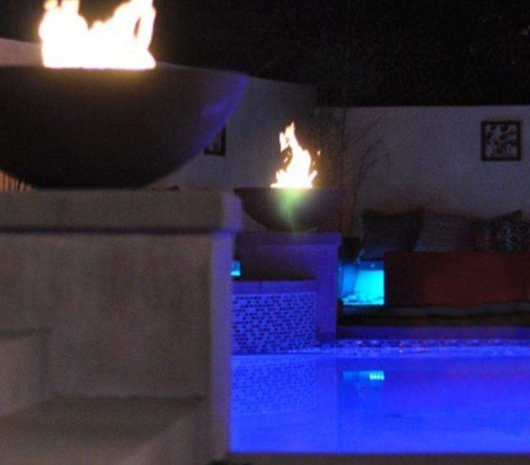 Should I put color or white lights in my swimming pool?