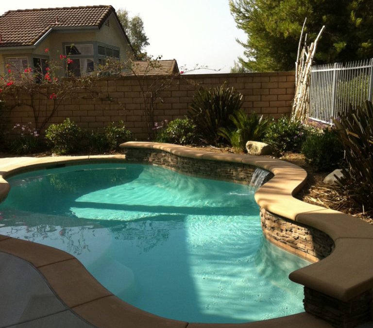 Can I hide the pool pump and equipment in my yard?